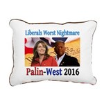 Liberals Worst Nightmare Rectangular Canvas Pillow