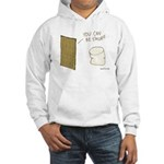 Be S'more Hooded White Sweatshirt
