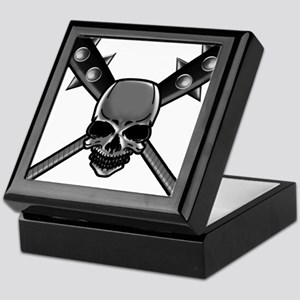 SkullCrossbats copy Keepsake Box