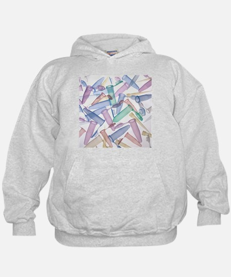 Pipette tips and sample tubes - Hoodie