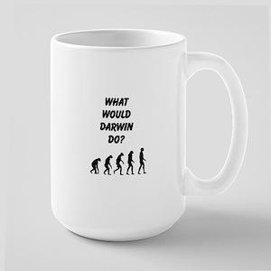What Would Darwin Do? Large Mug