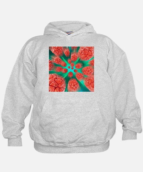 Viral infection, conceptual artwork - Hoodie