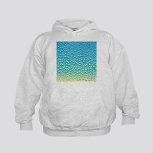 Water droplets from condensation - Kids Hoodie