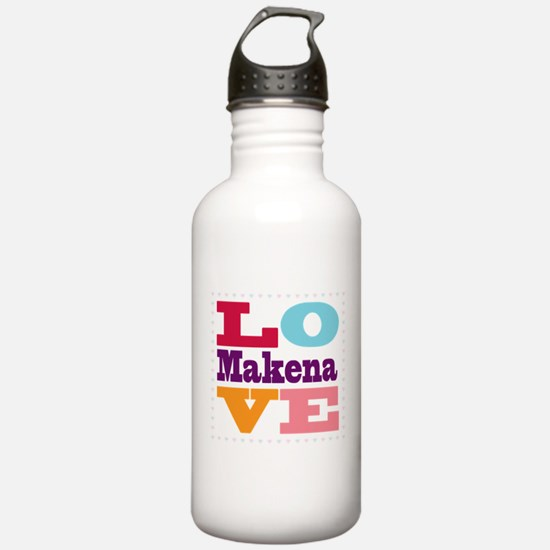 I Love Makena Sports Water Bottle