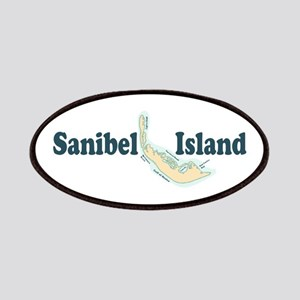Sanibel Island - Map Design. Patches