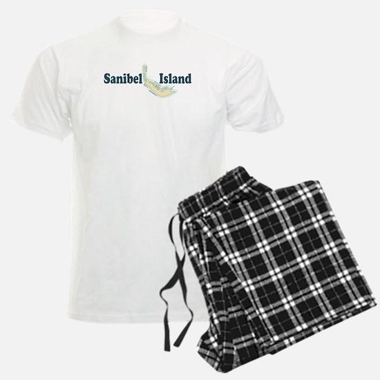 Sanibel Island - Map Design. Pajamas