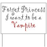 Princess Vampire Yard Sign