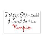 Princess Vampire 20x12 Wall Decal