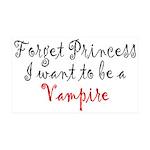 Princess Vampire 35x21 Wall Decal