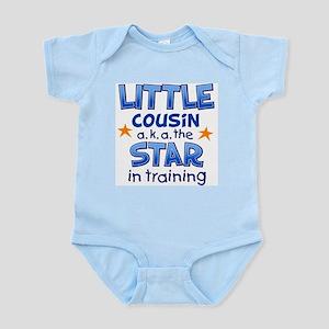 Little Cousin - Star (Blue) Body Suit