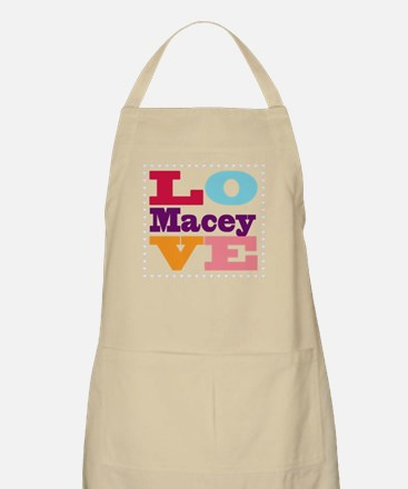 I Love Macey Apron