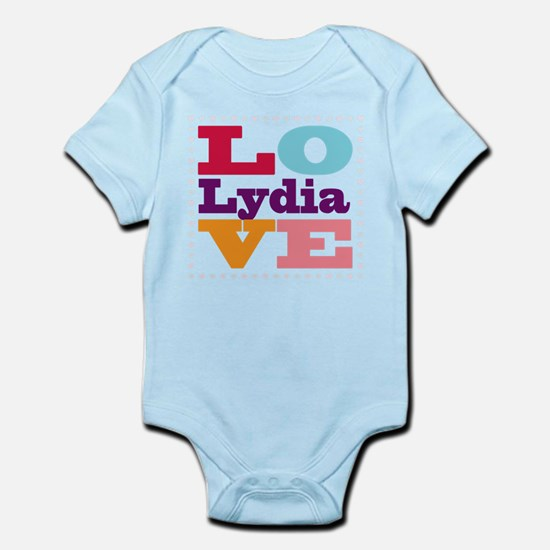 I Love Lydia Infant Bodysuit