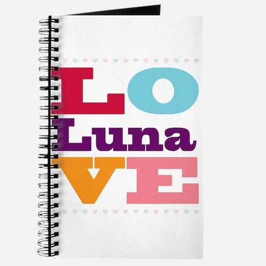 I Love Luna Journal