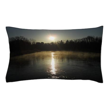 Mississippi River Sunrise Pillow Case