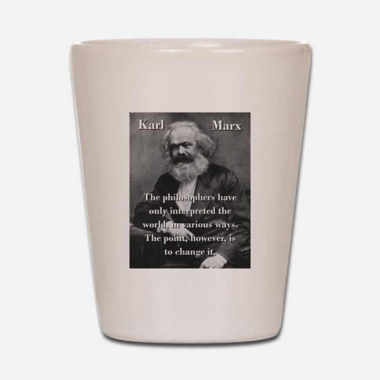 The Philosophers Have Only Interpreted - Karl Marx