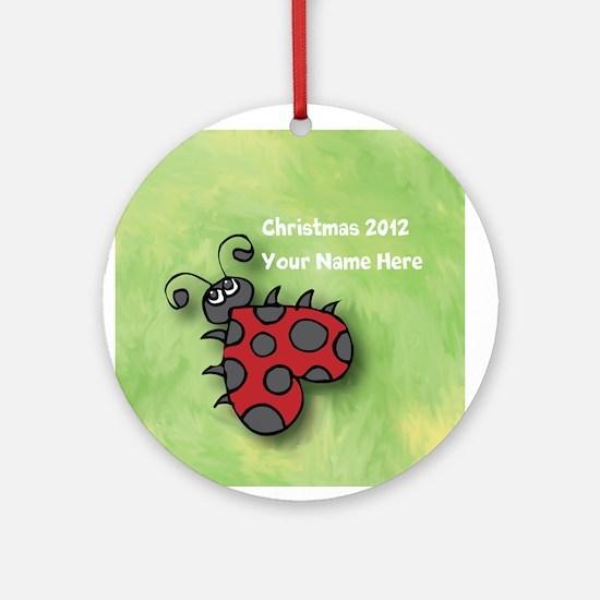 Personalize It Yourself Ladybug Ornament