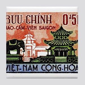 1964 Vietnam Saigon Zoo and Botanical Garden Tile