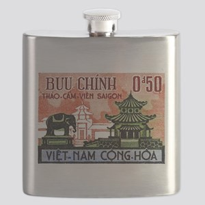 1964 Vietnam Saigon Zoo and Botanical Garden Flask