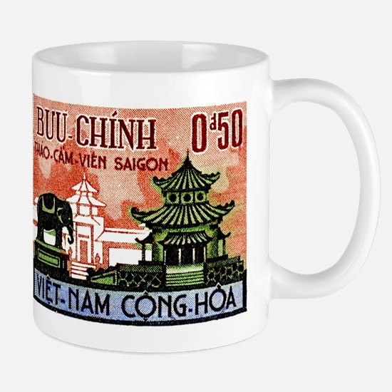 1964 Vietnam Saigon Zoo and Botanical Garden Mug