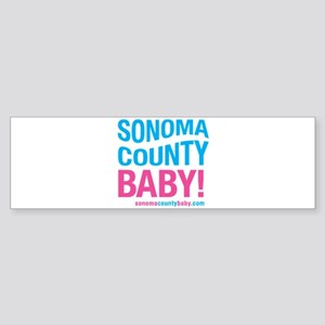 Sonoma County Baby Sticker (Bumper)