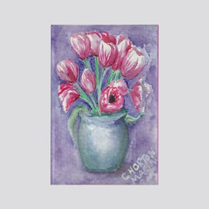Refridgerator Magnet from ATC Tulips Painting