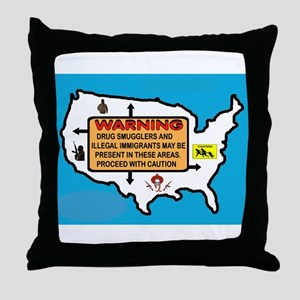 THEY'RE EVERYWHERE Throw Pillow