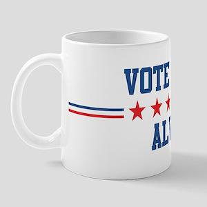 Vote for ALVA Mug