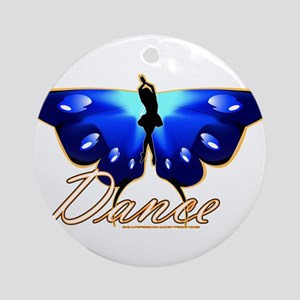 Butterfly Dance Ornament (Round)