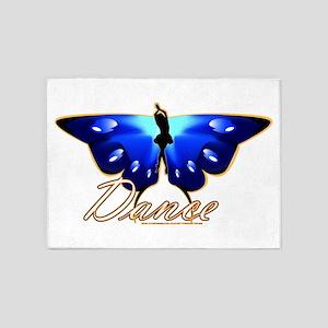 Butterfly Dance 5'x7'Area Rug