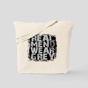Real Men Diabetes Tote Bag