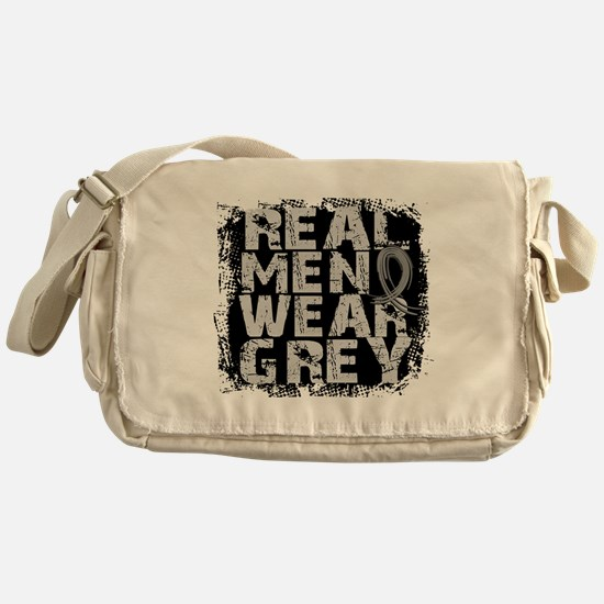 Real Men Parkinson's Messenger Bag