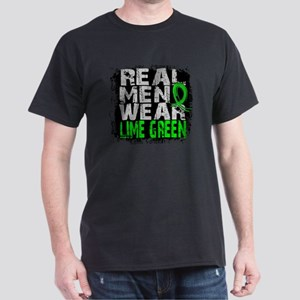 Real Men NH Lymphoma Dark T-Shirt