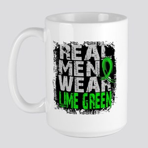 Real Men NH Lymphoma Large Mug