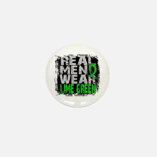 Real Men NH Lymphoma Mini Button
