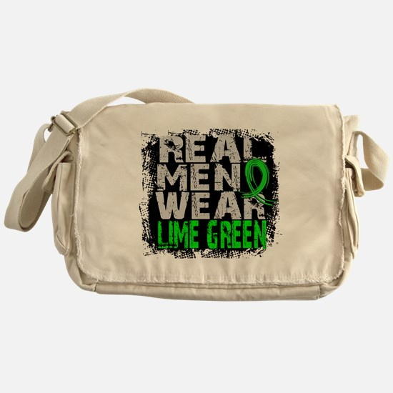 Real Men NH Lymphoma Messenger Bag
