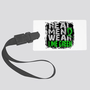 Real Men NH Lymphoma Large Luggage Tag