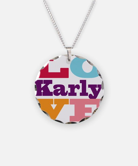 I Love Karly Necklace