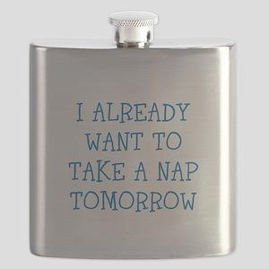 Funny Sleepy Joke Flask