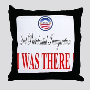 I Was There: Throw Pillow