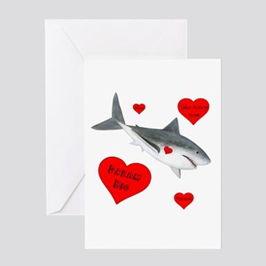 Dream Big Shark Greeting Card