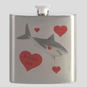 Dream Big Shark Flask