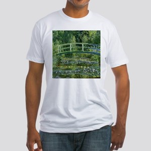 Japanese Bridge Giverny Fitted T-Shirt