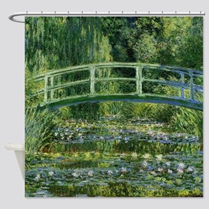 Japanese Bridge Giverny Shower Curtain