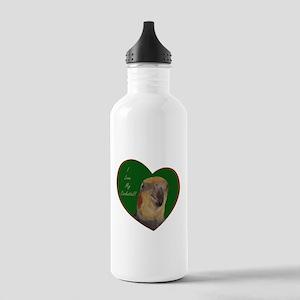 I Love My Cockatiel! Heart Stainless Water Bottle