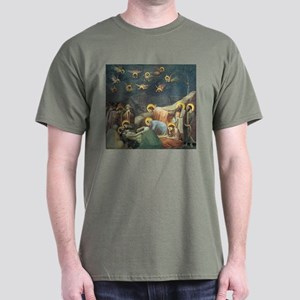 Giotto Lamentation Of Christ Dark T-Shirt