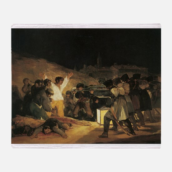 Francisco de Goya The Third Of May Throw Blanket