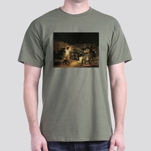 Francisco de Goya The Third Of May Dark T-Shirt