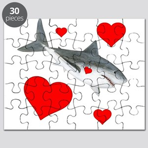 Shark Valentine Puzzle