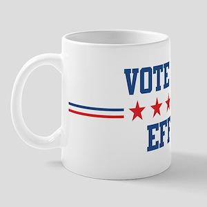Vote for EFFIE Mug