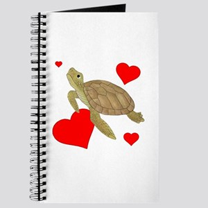 Valentine Turtle Journal